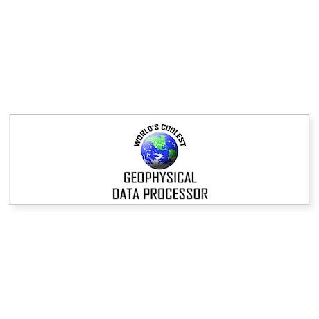 World's Coolest GEOPHYSICAL DATA PROCESSOR Sticker