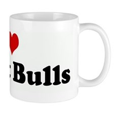 I Love My Pit Bulls Mug