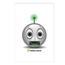 Robot 5 Postcards (Package of 8)