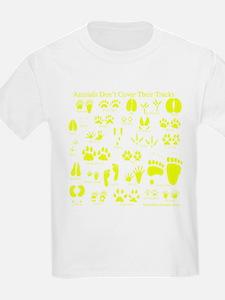 Yellow Tracks T-Shirt