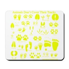 Yellow Tracks Mousepad