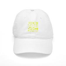 Yellow Tracks Baseball Cap