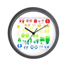 Colorful Rainbow Wall Clock
