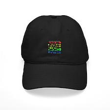 Colorful Rainbow Baseball Hat
