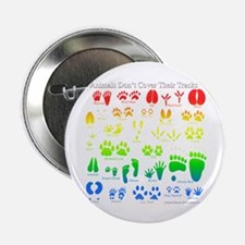 """Colorful Rainbow 2.25"""" Button (100 pack)"""