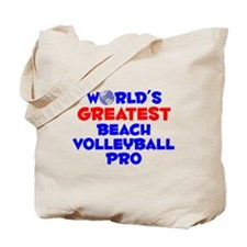 World's Greatest Beach.. (A) Tote Bag