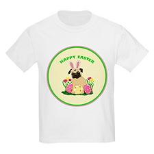 Easter Bunny Pug 2 T-Shirt