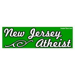 New Jersey Atheist Bumper Bumper Sticker