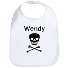 Wendy (skull-pirate) Bib