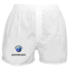 World's Coolest GEOHYDROLOGIST Boxer Shorts