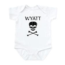 WYATT (skull-pirate) Infant Bodysuit