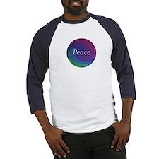 """""""Peace"""" Baseball Jersey"""
