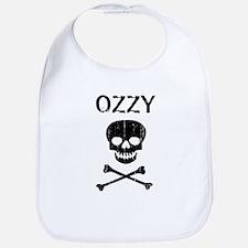 OZZY (skull-pirate) Bib
