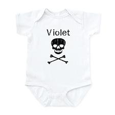 Violet (skull-pirate) Infant Bodysuit