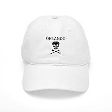 ORLANDO (skull-pirate) Baseball Cap