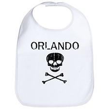 ORLANDO (skull-pirate) Bib