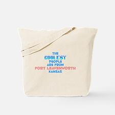Coolest: Fort Leavenwor, KS Tote Bag