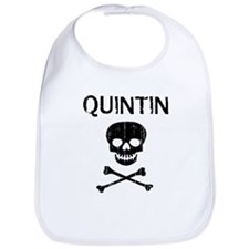 QUINTIN (skull-pirate) Bib