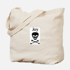 Joy (skull-pirate) Tote Bag