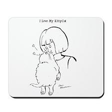 KittyCat Nosebite Mousepad