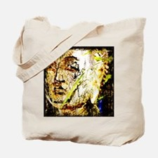 The Face of Buddha Tote Bag