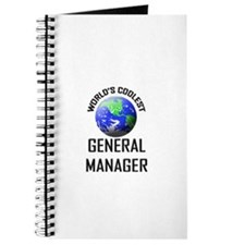 World's Coolest GENERAL MANAGER Journal