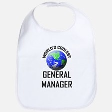 World's Coolest GENERAL MANAGER Bib