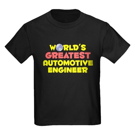 World's Greatest Autom.. (B) Kids Dark T-Shirt