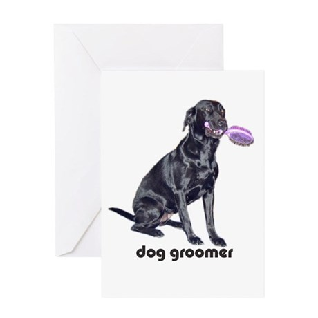dog groomer Greeting Card