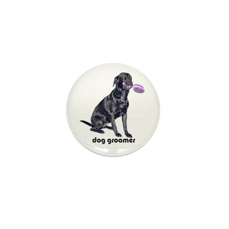 dog groomer Mini Button