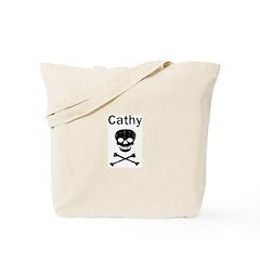 Cathy (skull-pirate) Tote Bag