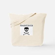Anastasia (skull-pirate) Tote Bag