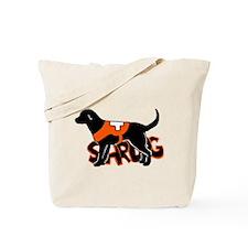lab sardog Tote Bag