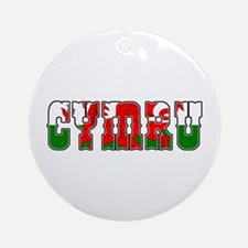 Cymru Ornament (Round)