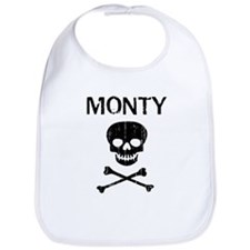 MONTY (skull-pirate) Bib