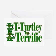 T-Turtley Terrific Greeting Cards (Pk of 20)