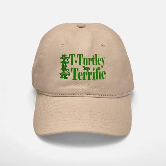 T-Turtley Terrific Baseball Baseball Cap