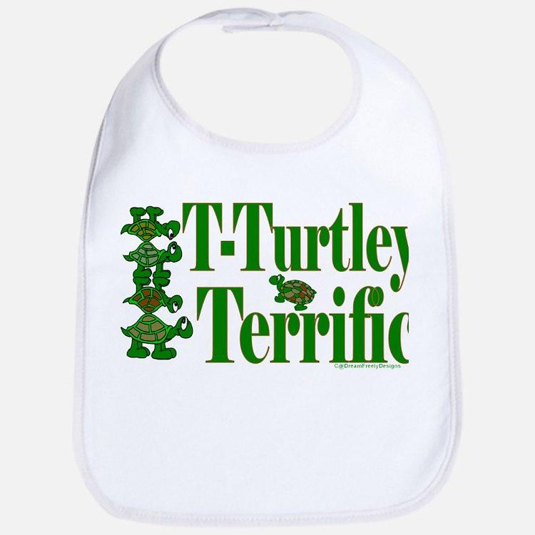 T-Turtley Terrific Bib