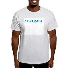 Cozumel - Ash Grey T-Shirt