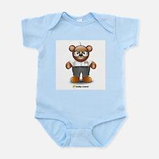 Nerdy Teddy Infant Creeper
