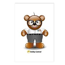Nerdy Teddy Postcards (Package of 8)