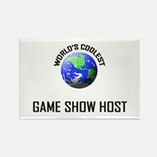 World's Coolest GAME SHOW HOST Rectangle Magnet