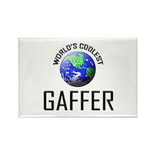 World's Coolest GAFFER Rectangle Magnet