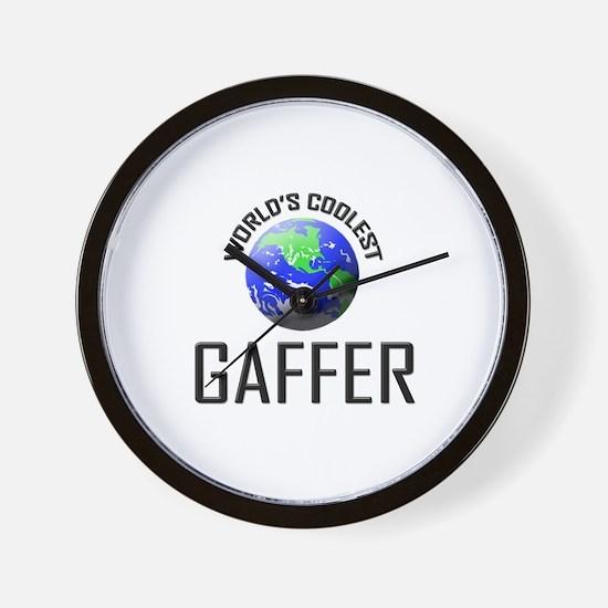World's Coolest GAFFER Wall Clock