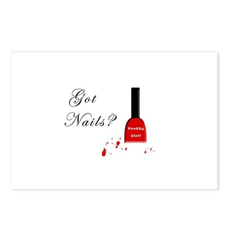 Got Nails? Postcards (Package of 8)