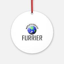 World's Coolest FURRIER Ornament (Round)