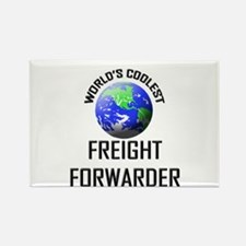 World's Coolest FREIGHT FORWARDER Rectangle Magnet