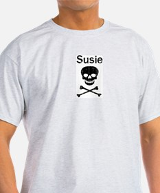 Susie (skull-pirate) T-Shirt