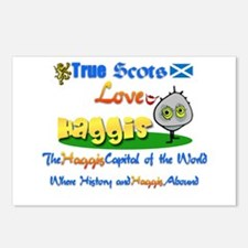 'Love Haggis.:-) Postcards (Package of 8)