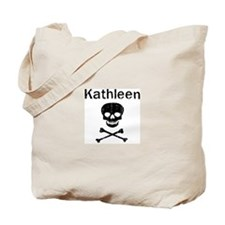 Kathleen (skull-pirate) Tote Bag